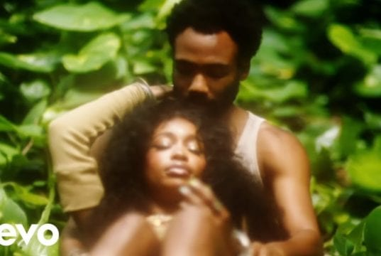 Donald Glover Stars In SZAs New Video For Garden