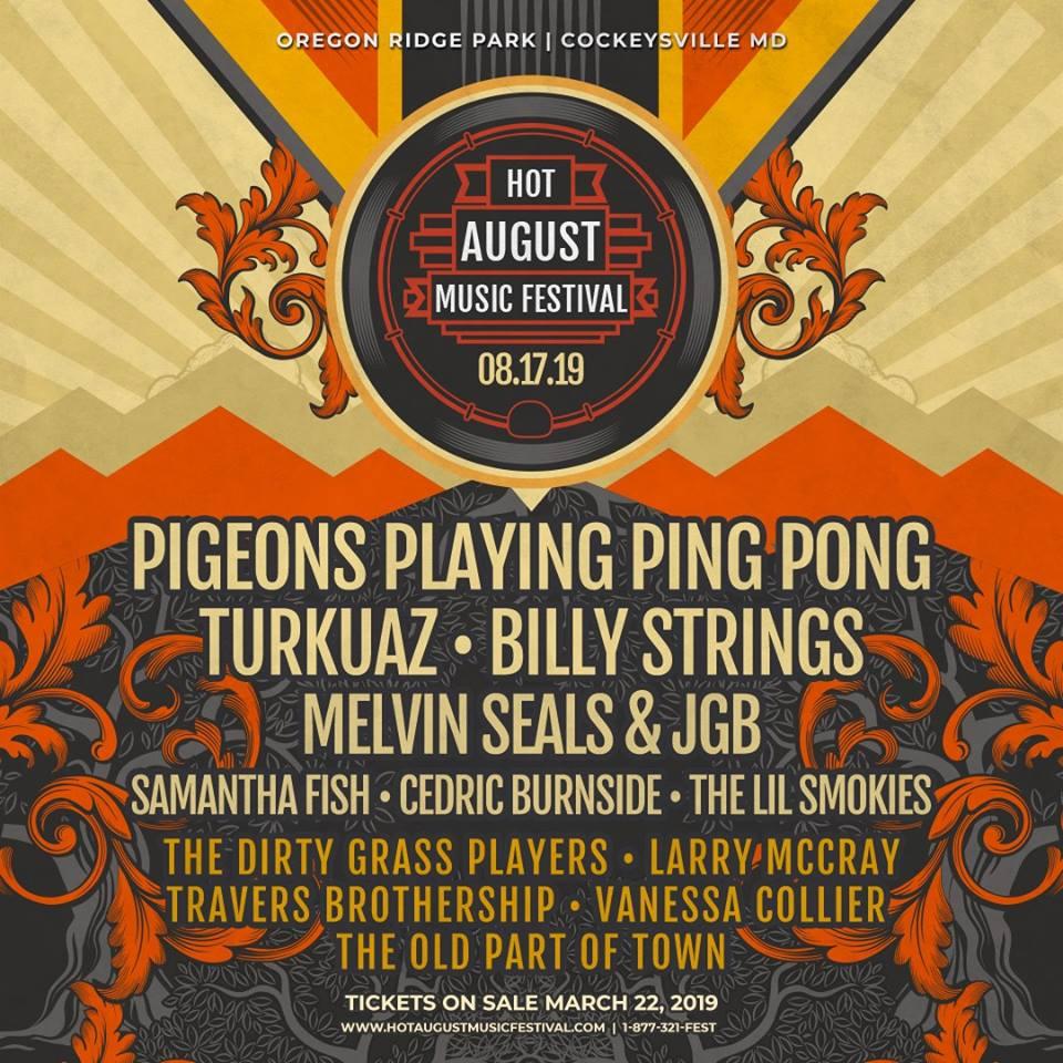 Hot August Music Festival 2019