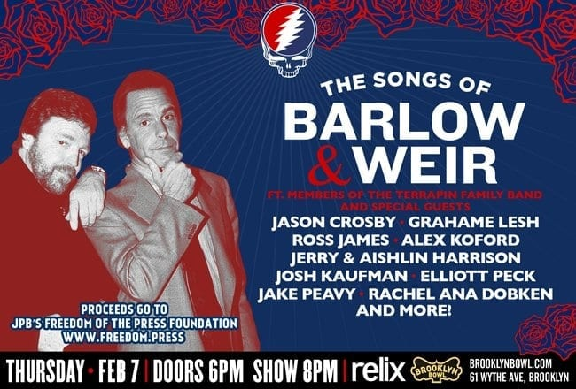 The Songs Of Weir And Barlow