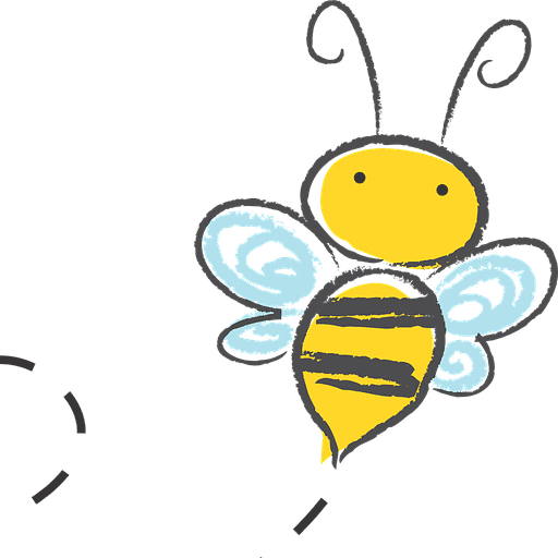 Utter Buzz bee logo