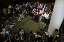 Chaos as Hong Kong lawmakers thwart leader