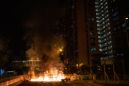 Thousands of Hong Kong Protesters Ignore Mask Ban as Violence Resumes