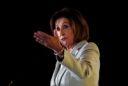 House Speaker Pelosi holds talks in Jordan with King Abdullah