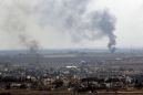 The Latest: Kurdish fighters pull out of Syrian border town