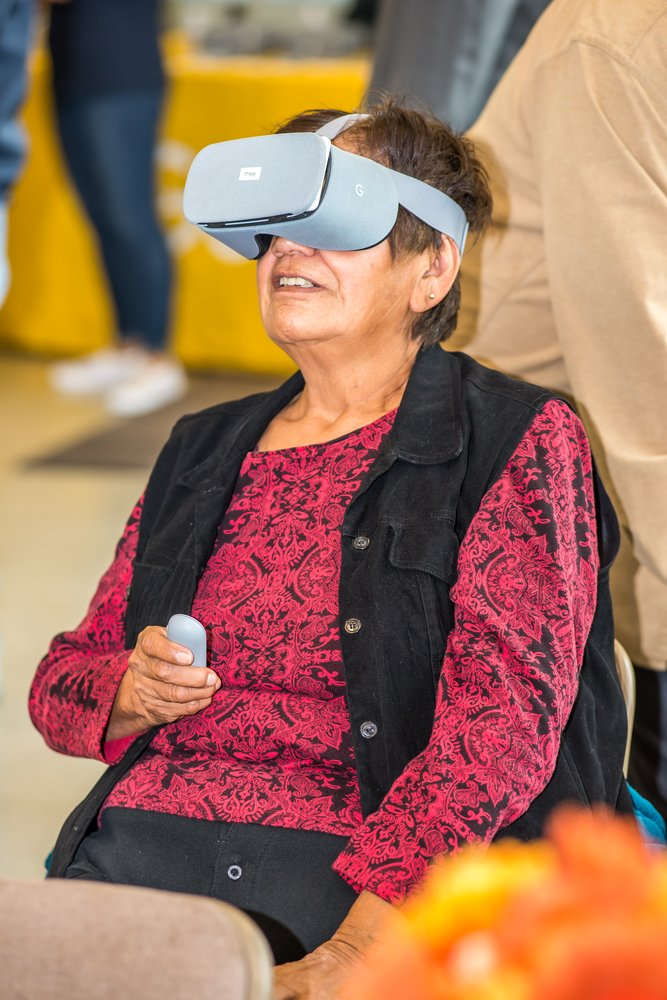 Daydream VR in Celilo Village